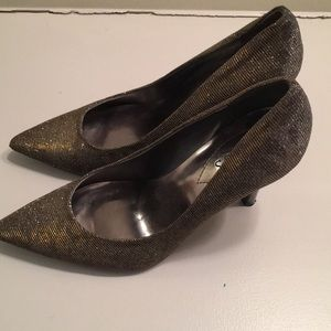 Guess Sparkly Shoes Gold/Silver